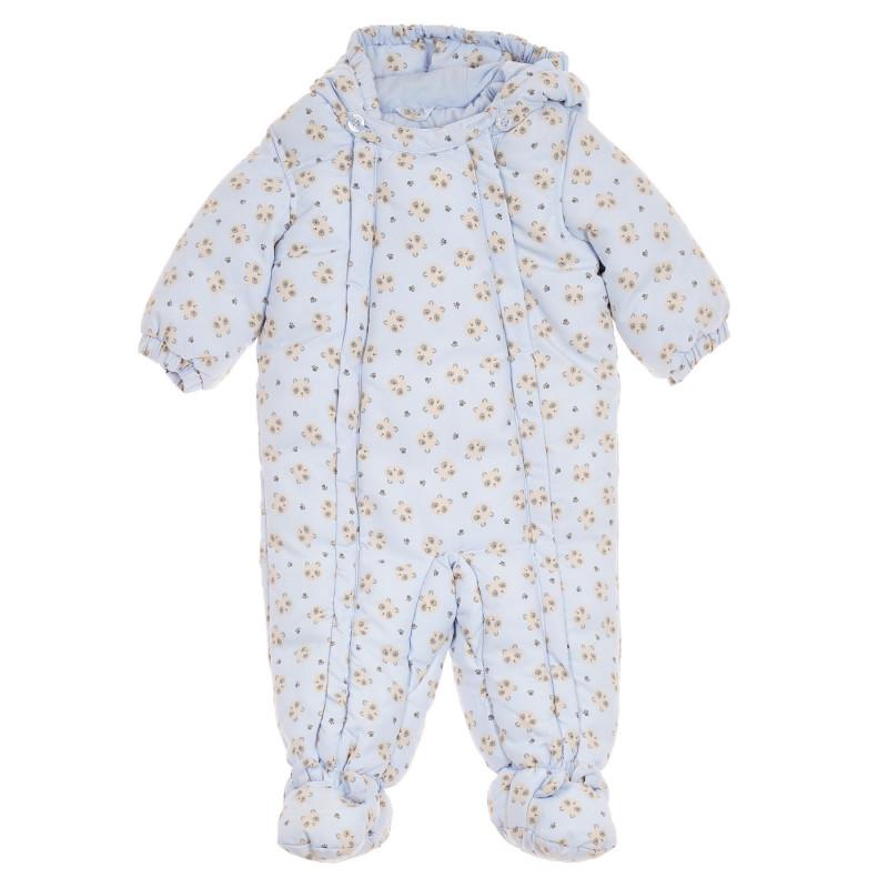 Αστροναύτης με εκτύπωση αρκουδάκια για μωρό, γαλάζιο  260918