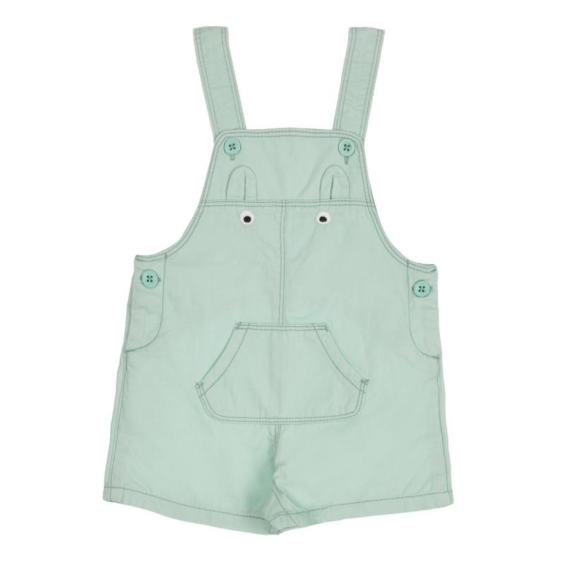 Βαμβακερή φόρμα για μωρό, πράσινη  260937