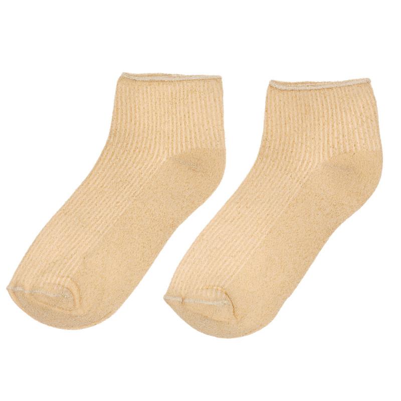 Κάλτσες για κορίτσι σε μπεζ χρώμα  261317