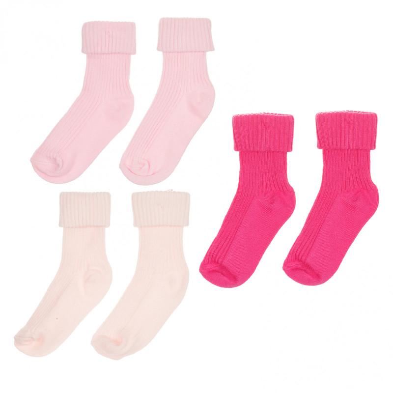 Σετ από τρία ζευγάρια βρεφικές κάλτσες  261398