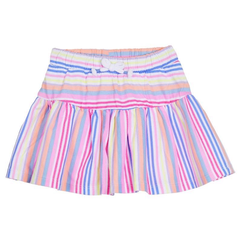 Cool Club βαμβακερή φούστα με χρωματιστές ρίγες για κορίτσια  270587