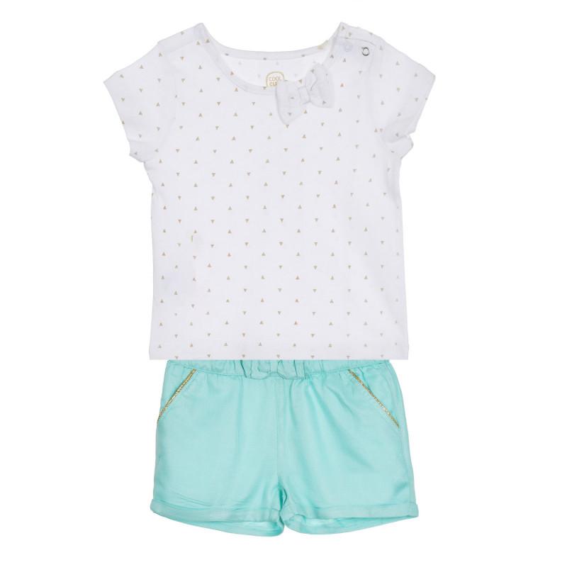 Σετ με μπλουζάκι και σορτς για μωρά  270599