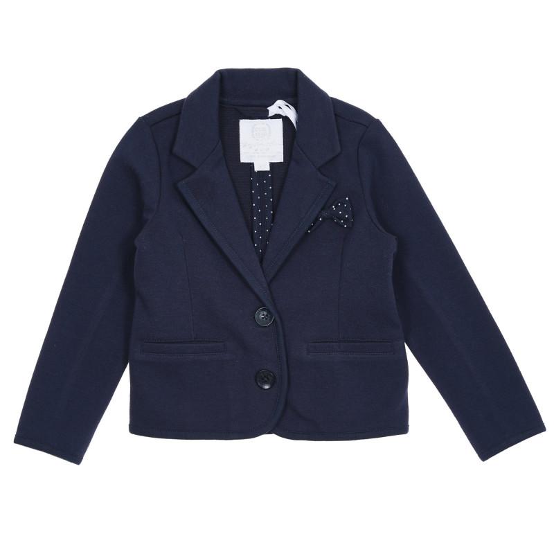 Cool Club έξυπνο βρεφικό μπουφάν με γραβάτα, μπλε ναυτικό για κορίτσια  271869