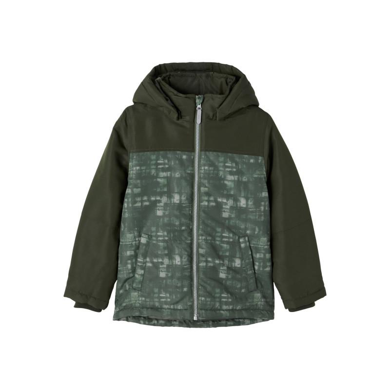 Name It μπουφάν με ανοιχτό πράσινο χρώμα, πράσινο  274052