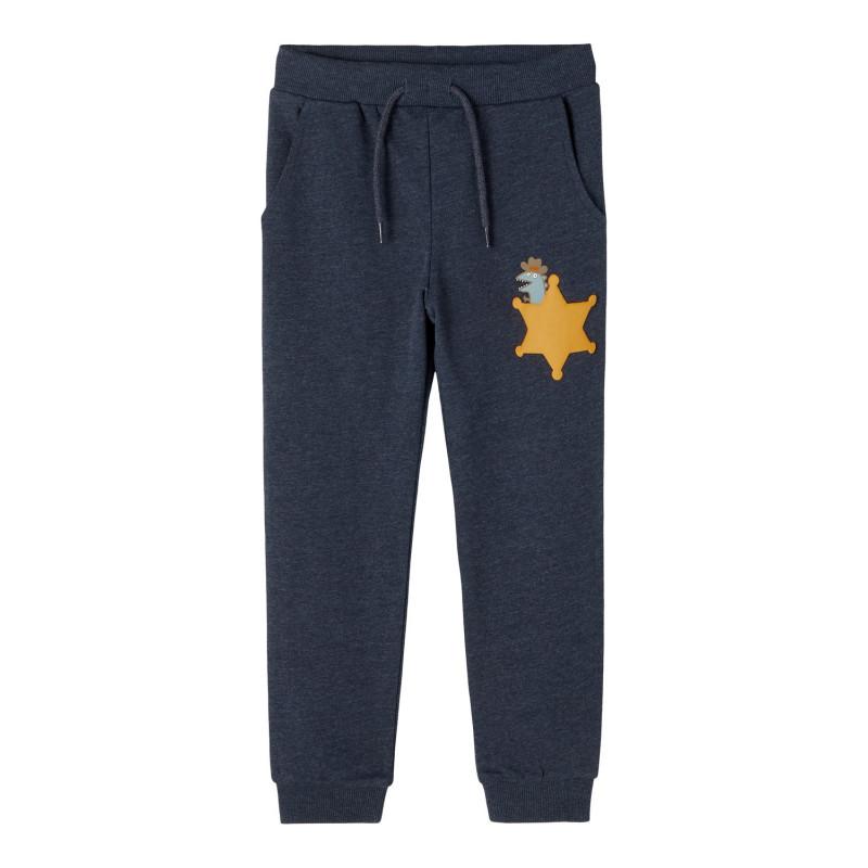 Αθλητικό παντελόνι, μπλε ναυτικό  274074