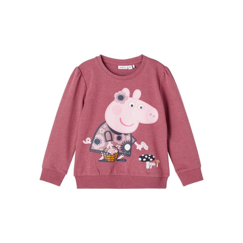 Μακρυμάνικη κορυφή Peppa Pig, ροζ  274080