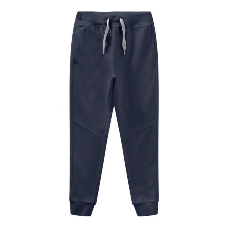 Αθλητικό παντελόνι από οργανικό βαμβάκι, μπλε ναυτικό  278280