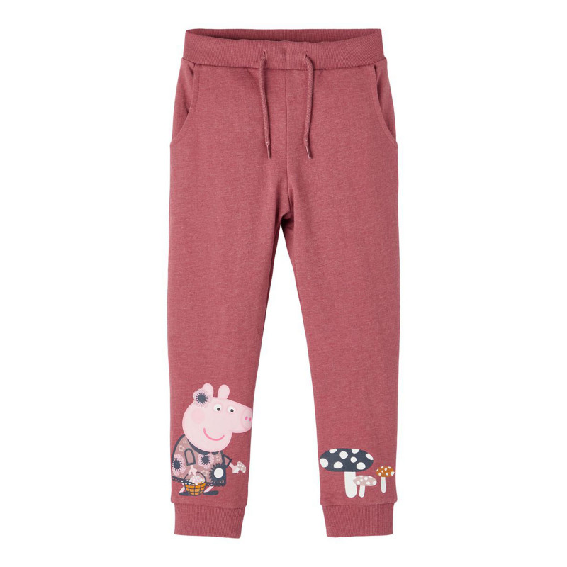 Αθλητικό παντελόνι Peppa Pig, ροζ  278583