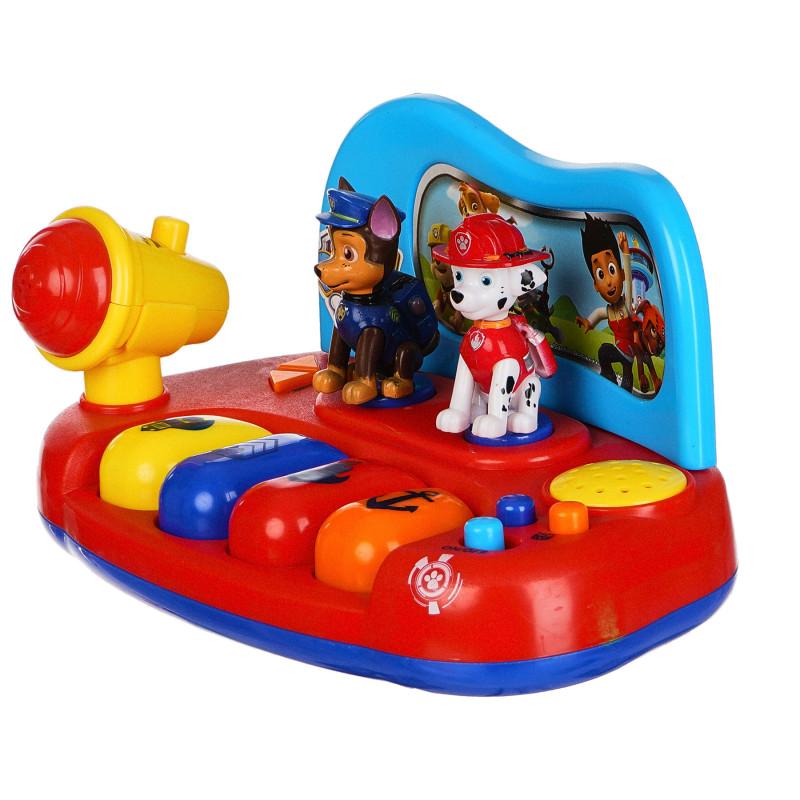 Ηλεκτρονικό πιάνο μωρού με μικρόφωνο, Paw Patrol  279269