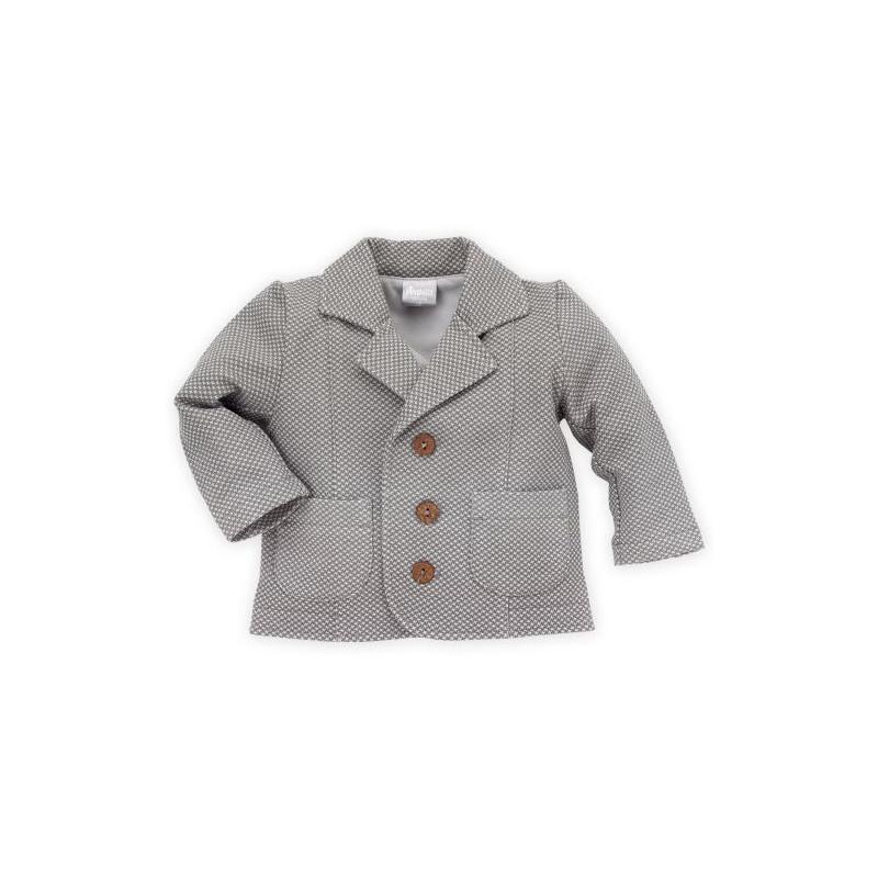 Βαμβακερό μπουφάν με δύο τσέπες και κουμπιά για αγοράκι  28243