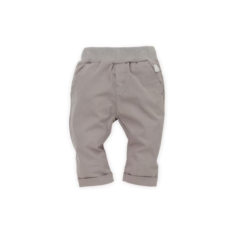 Παντελόνι με στρίφωμα και φαρδιά ελαστική ζώνη για αγοράκι  28246
