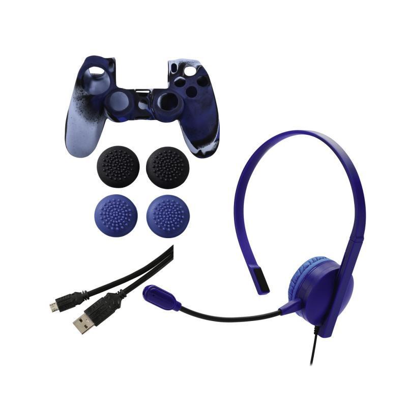 Σετ αξεσουάρ για Sony PS4, chat, power & grip  2891