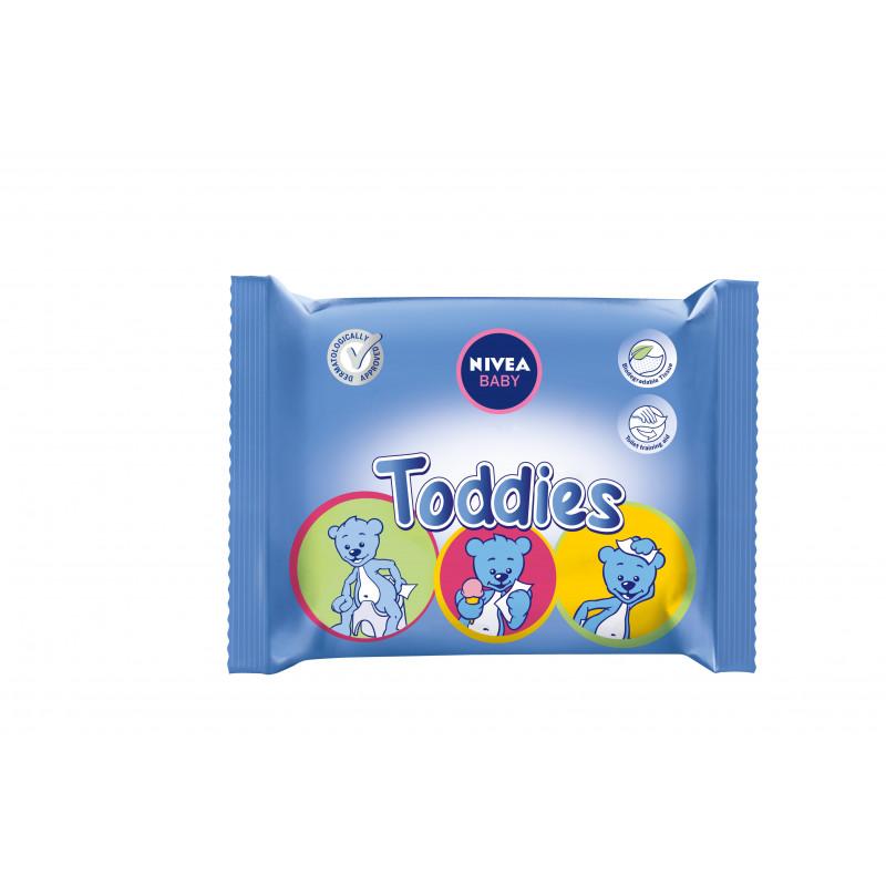 Μωρομάντηλα Nivea Toddies, 60 τεμ.  2928