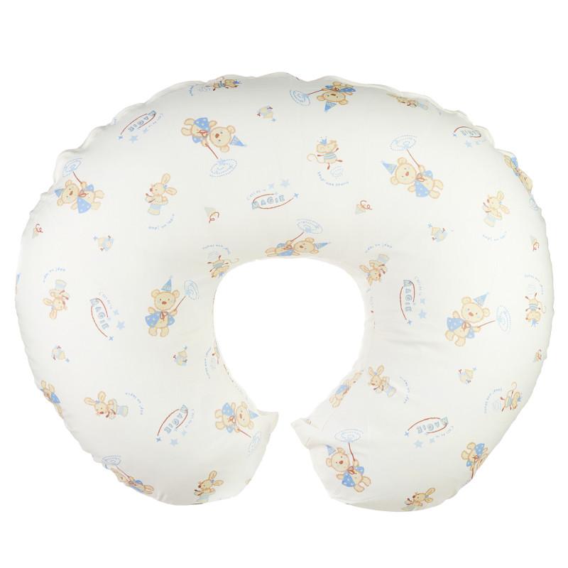 Κάλυμμα για μαξιλάρι θηλασμού, μπλε  296475