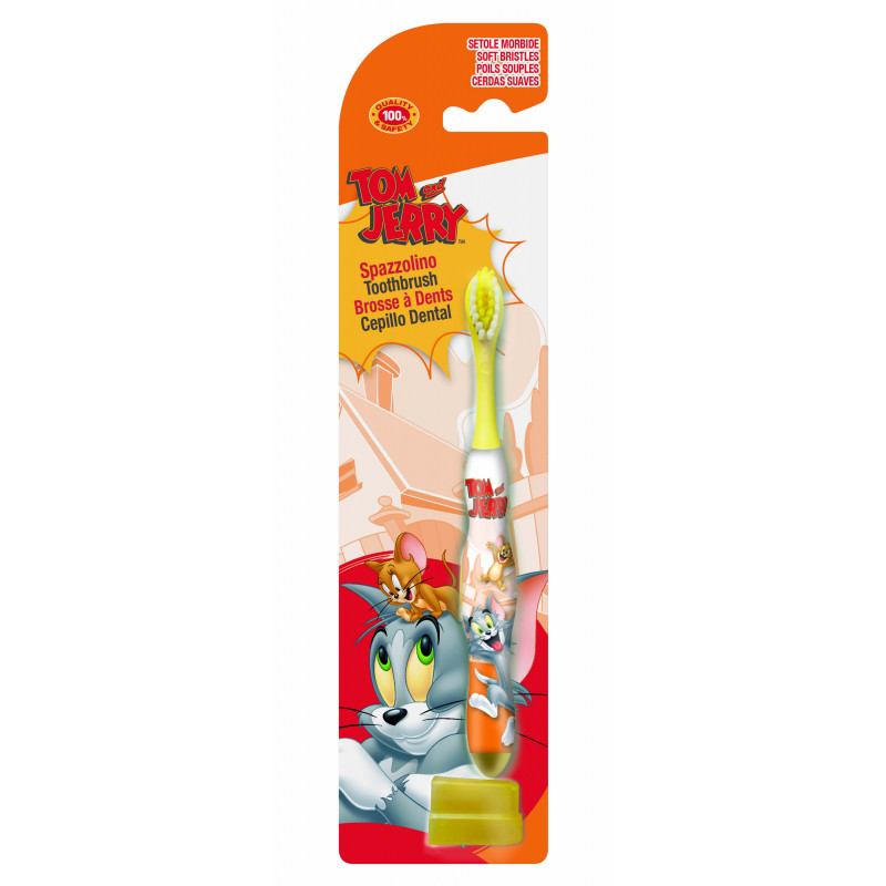 Οδοντόβουρτσα Tom & Jerry με καπάκι  2984