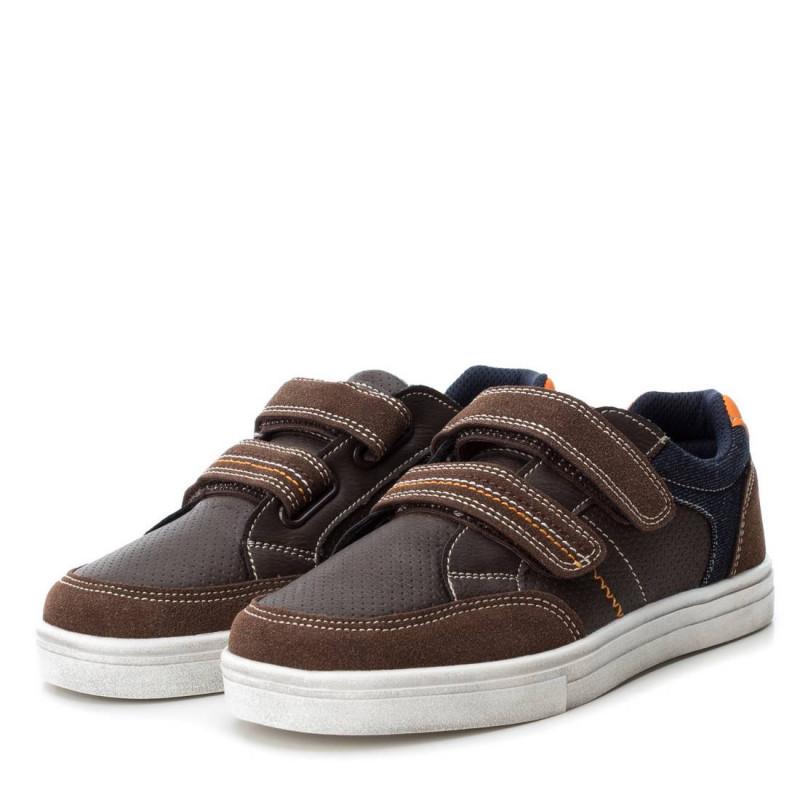Δερμάτινα παπούτσια για αγόρια, με μαλακή επένδυση  3087