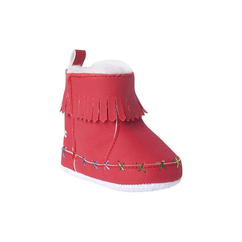 Μαλακές μπότες για κοριτσάκι, κόκκινες  31073