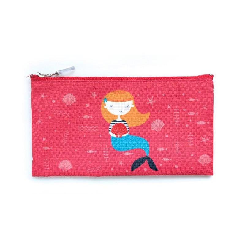 Τσάντα φαγητού, αστερίες, 10 x 20 cm, κόκκινο  3135