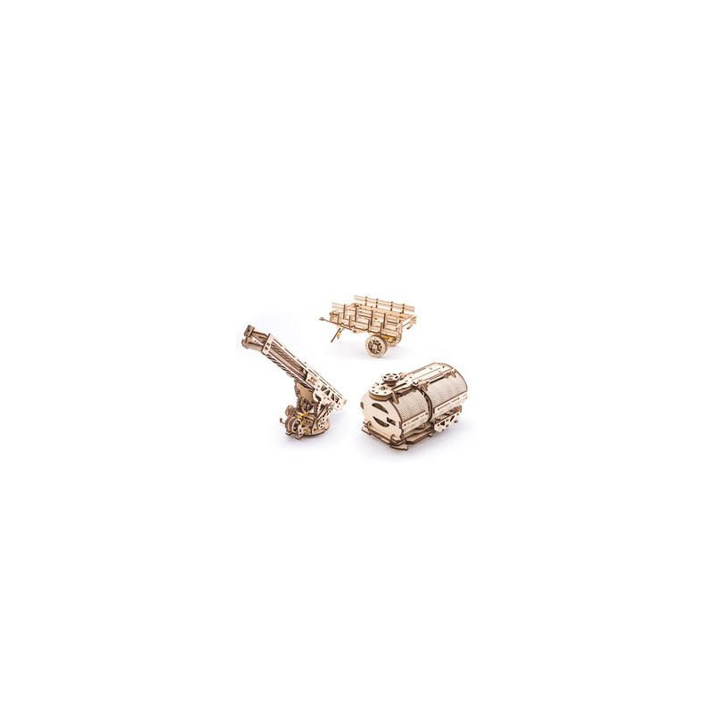 3D Mechanical Puzzle Truck Kit UGM-11  3304