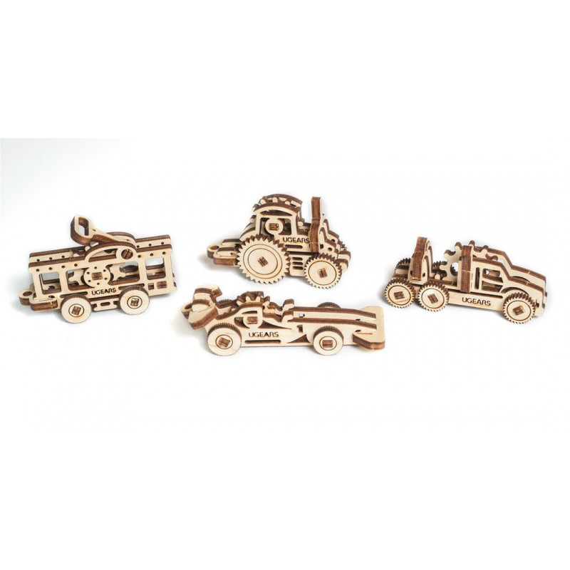 3D Mechanical Fidget Puzzle - Αναπηρικά αμαξίδια  3311