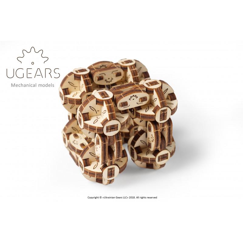 3D Flexi-Cube Mechanical Puzzle  3318
