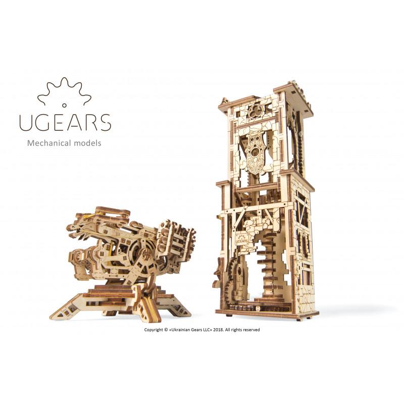 3D Μηχανικό παζλ Πύργος με βαλλίστρα  3319