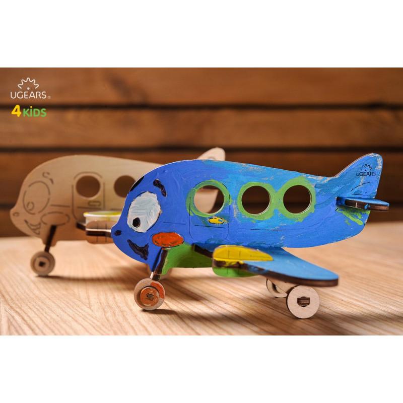 3D Μηχανικό Παζλ για παιδιά -  Αεροπλάνο  3343