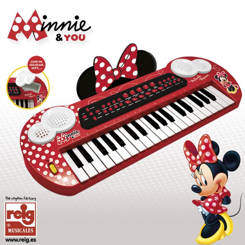 Παιδικό ηλεκτρονικό πιάνο, Minnie Mouse  3747