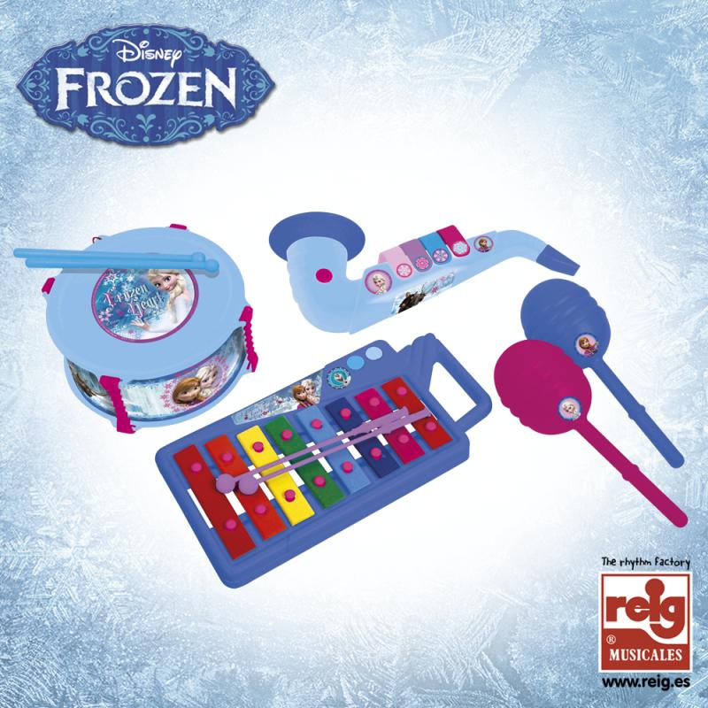 Σετ παιδικών μουσικών οργάνων σε 4 μέρη, Frozen  3763