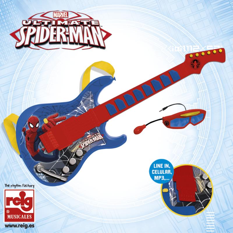 Παιδική ηλεκτρονική κιθάρα με γυαλιά και μικρόφωνο  3789
