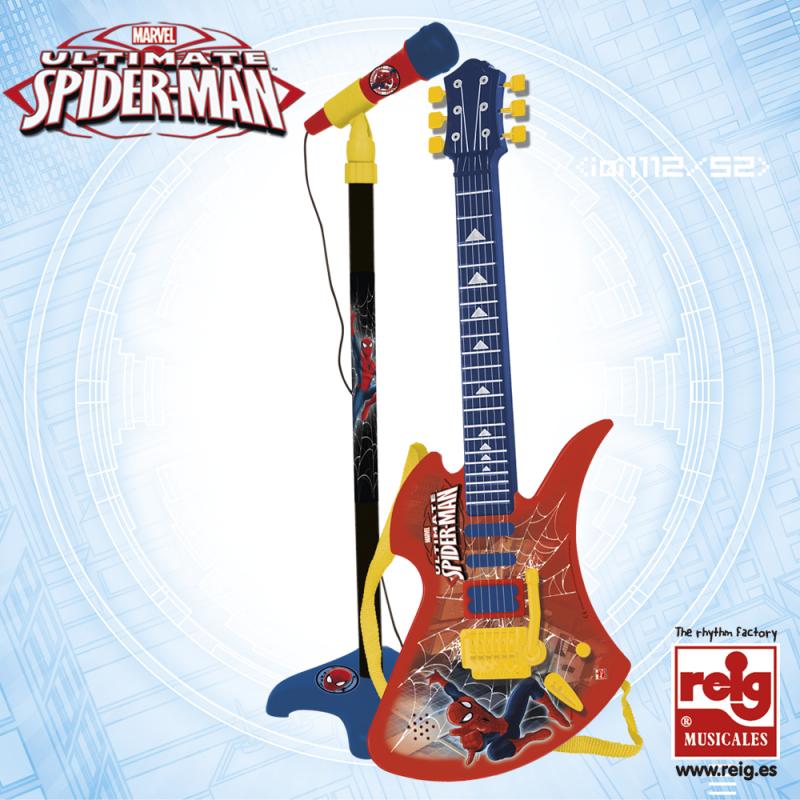 Παιδικό σετ κιθάρα με 6 χορδές και μικρόφωνο  3792
