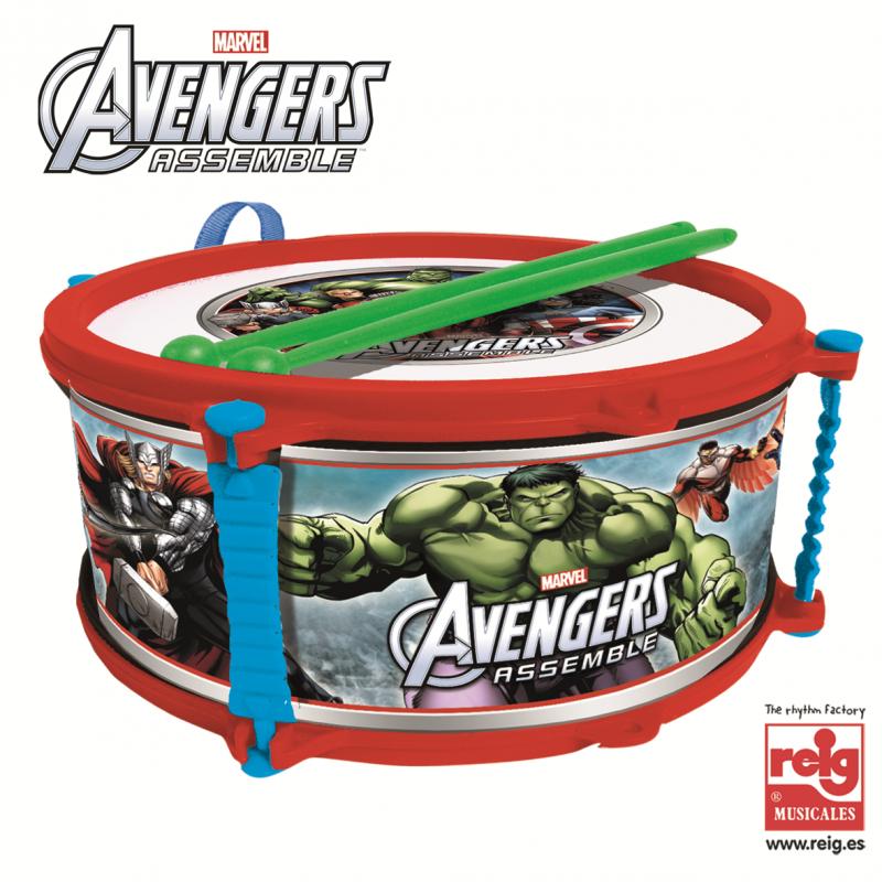 Τύμπανο με ραβδί, Avengers, 23 cm  3814