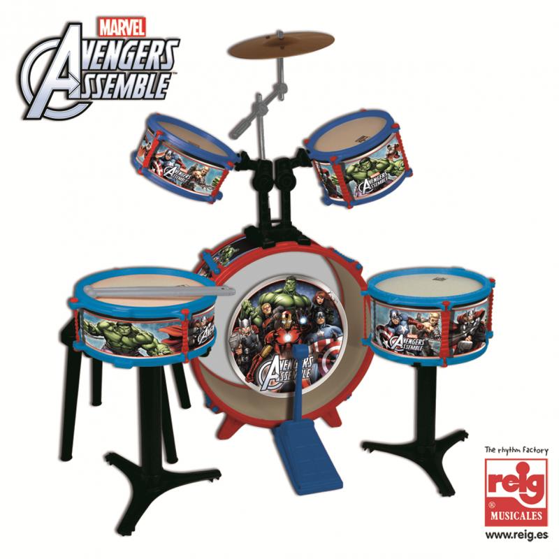 Διασκεδαστικό σετ ντραμς, Avengers  3815