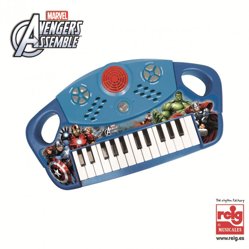 Ηλεκτρονικό πιάνο 25 κλειδιών με σχεδιασμό Avengers  3821
