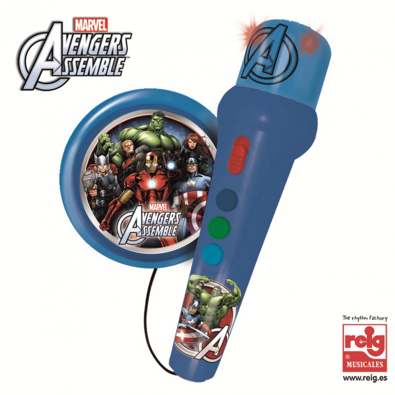 Παιδικό μικρόφωνο με ενισχυτή Avengers  3823