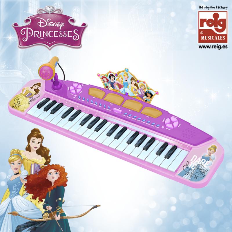 Ηλεκτρονικό πιάνο παιχνιδιού με μικρόφωνο για κορίτσια  3827