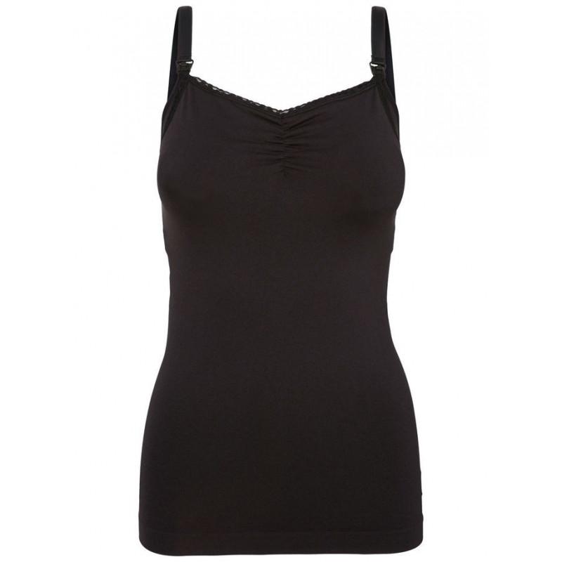 Μπλουζάκι θηλασμού, μαύρο  3888