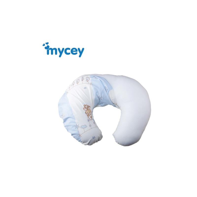 Κάλυμμα για μαξιλάρι θηλασμού, μπλε  40395