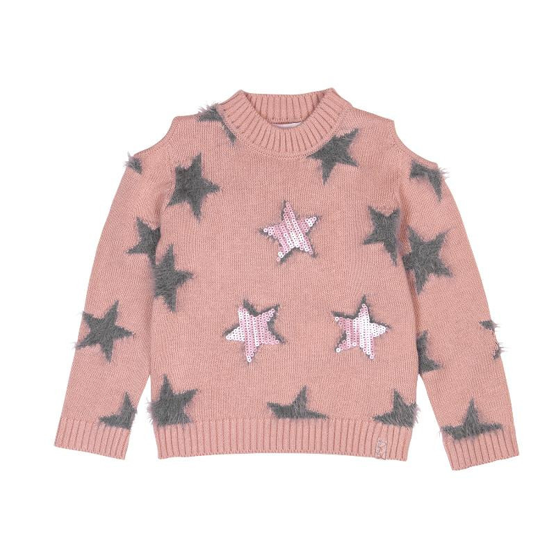 Πουλόβερ με αστέρια κορίτσια  433
