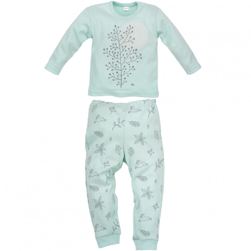Βαμβακερές πιτζάμες για κοριτσάκι  44400