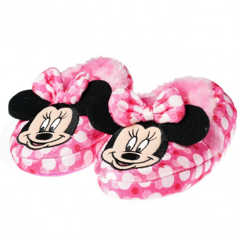 Παντόφλες για το σπίτι με σχέδιο Minnie Mouse με υφή  54444