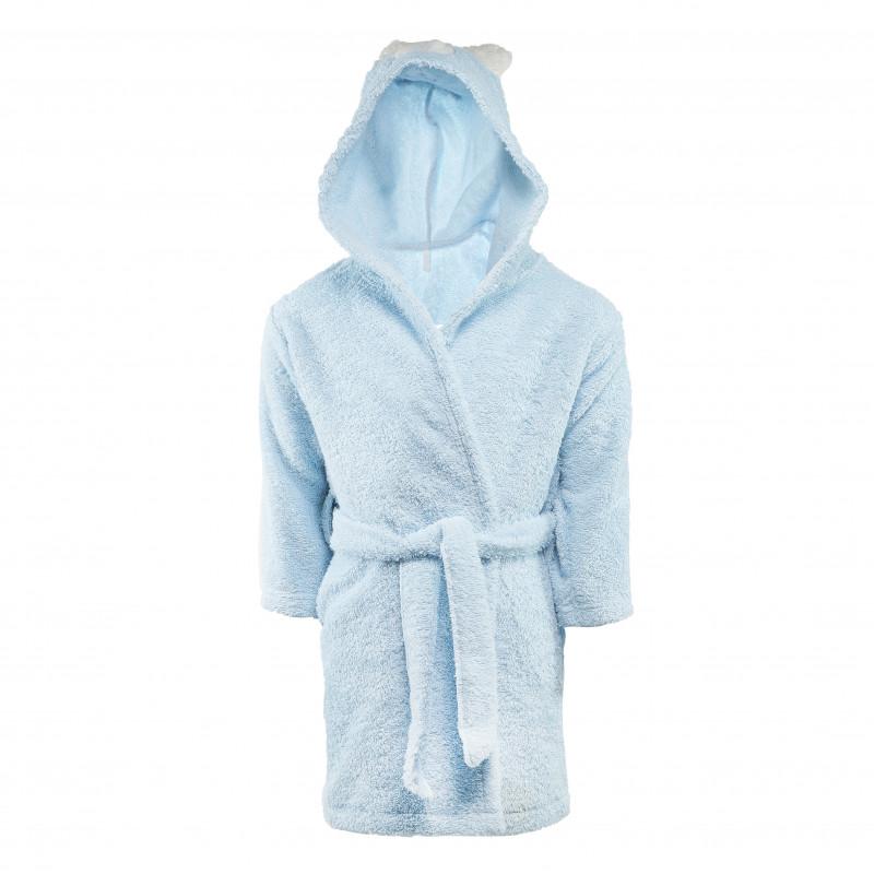 Μπλε μπουρνούζι για αγόρι  54549