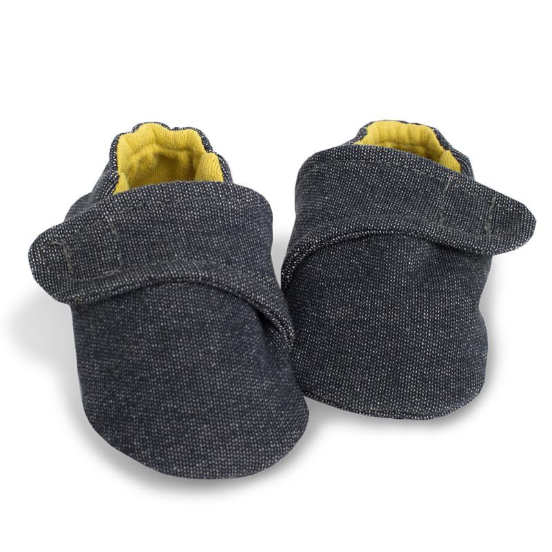 Βαμβάκι Μαλακή επένδυση για μωρά με κίτρινη βαμβακερή επένδυση - Unisex  721