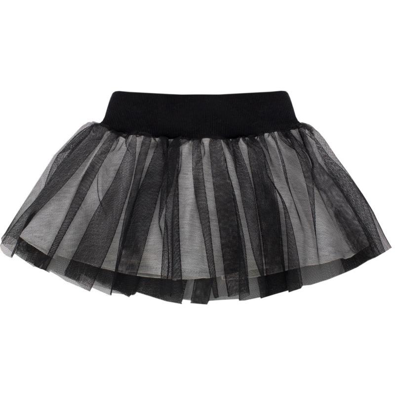 Μαύρη φούστα από τούλι με επένδυση από μαλακό βαμβάκι για μωρό  750