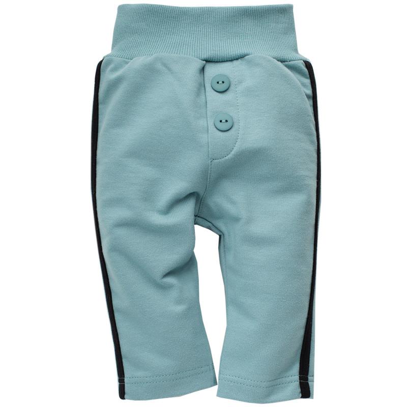 Βαμβακερό παντελόνι με μαύρο περίγραμμα για μωρό  771