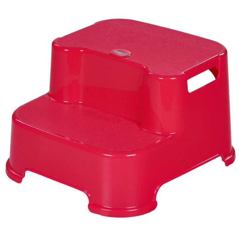 Ροζ διπλό σκαλοπάτι μπάνιου  82466
