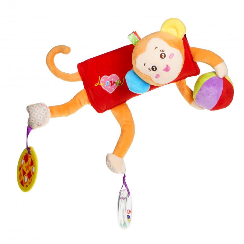 Λούτρινο παιχνίδι αγκαλιά - Μαϊμού  89671