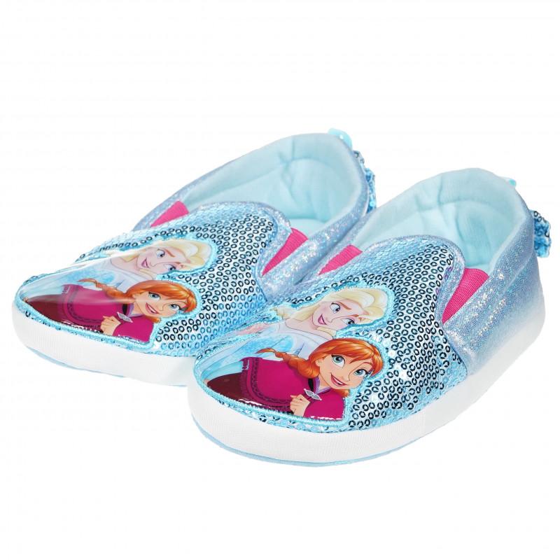 Παντόφλες με σχέδιο Frozen για κορίτσια  94669