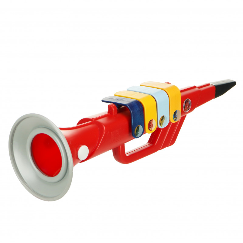Παιδική τρομπέτα με 4 μουσικές νότες, Cars αυτοκινητάκια  96045