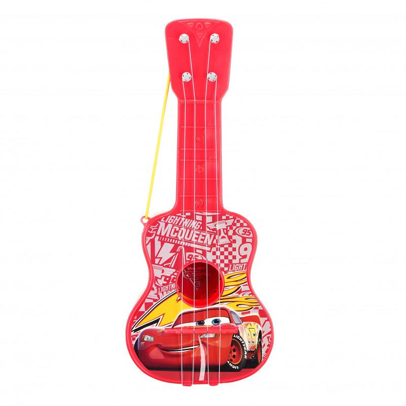 Παιδική κιθάρα με 4 χορδές, Cars αυτοκινητάκια  96050